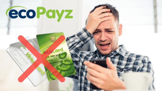 ecoPayz(エコペイズ)がエコカードの利用を停止