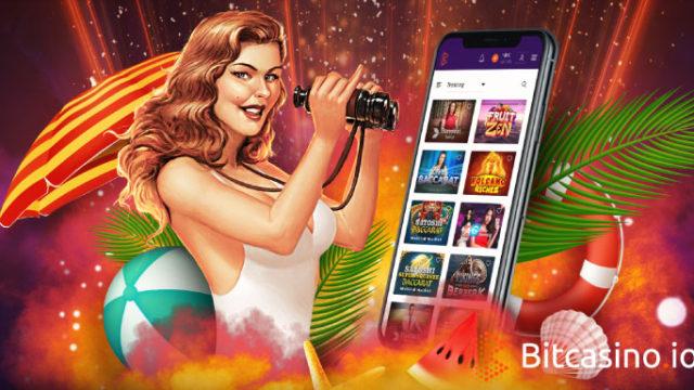 ビットカジノ(Bitcasino.io)の夏のリーダーボードキャンペーン