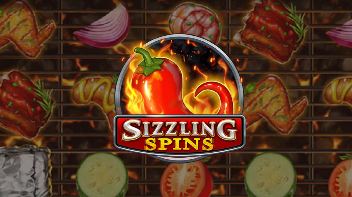 Play'nGO(プレイン・ゴー)社のスロット『SIZZLING SPINS(シズリング・スピンズ)』