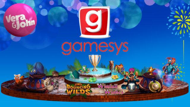 Gamesys&ベラジョンコラボ企画第二弾