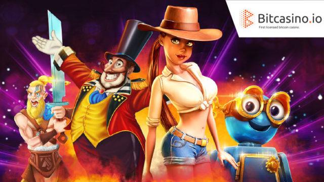 Bitcasino.io(ビットカジノ)のRedTiger社対象キャンペーン