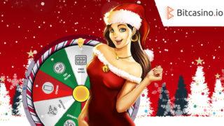 Bitcasino.io(ビットカジノ)のドキドキ・クリスマス・キャッチャー
