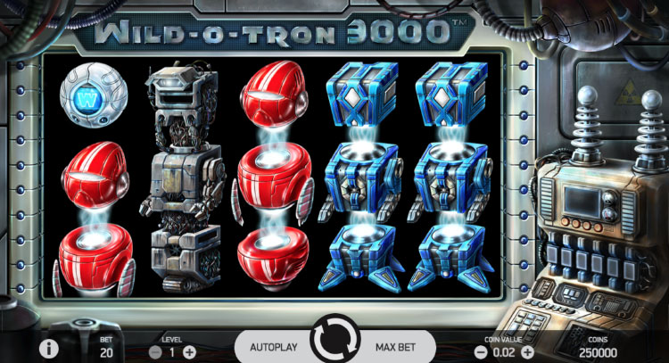 NETENT社のスロット『Wild-O-Tron 3000』