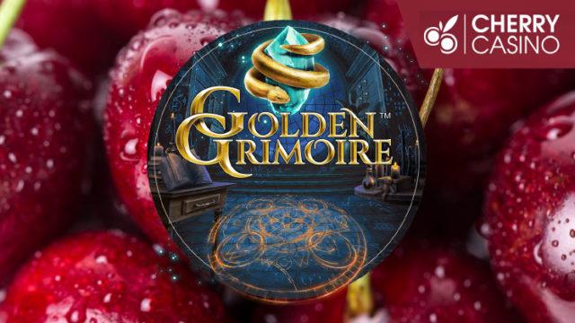 CherryCasino(チェリーカジノ)のお試しフリースピンキャンペーン(スロット:Golden Grimoire)