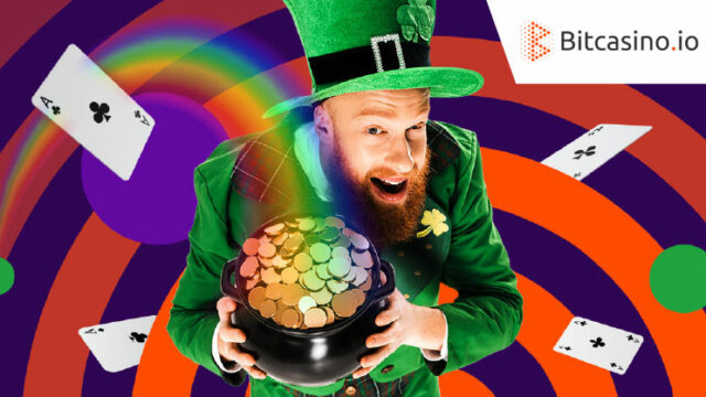 Bitcasino.io(ビットカジノ)の『クローバーを集めてラッキー』