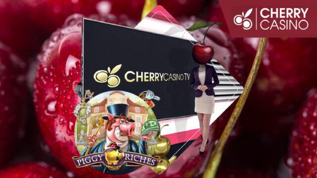 2019年3月15日のチェリーカジノ(CHERRYCASINO)TVボーナス