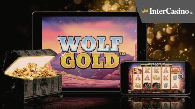 InterCasino(インターカジノ)のフリースピンプロモーション(対象スロット:WolfGold)