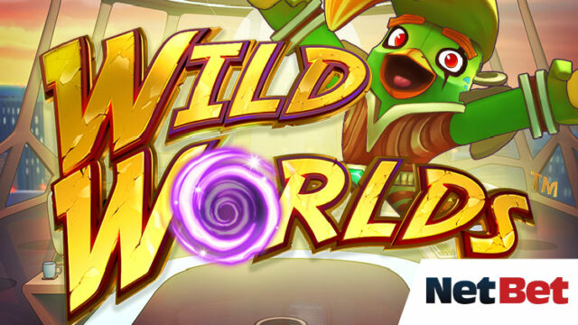 NetBet(ネットベット)でスロット『WildWorlds』のフリースピンを全員にプレゼント!