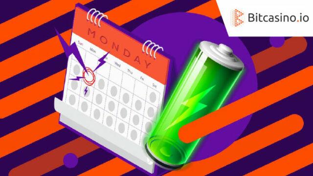 Bitcasino.io(ビットカジノ)のMONDAYBOOST(2019年6月10日開催)