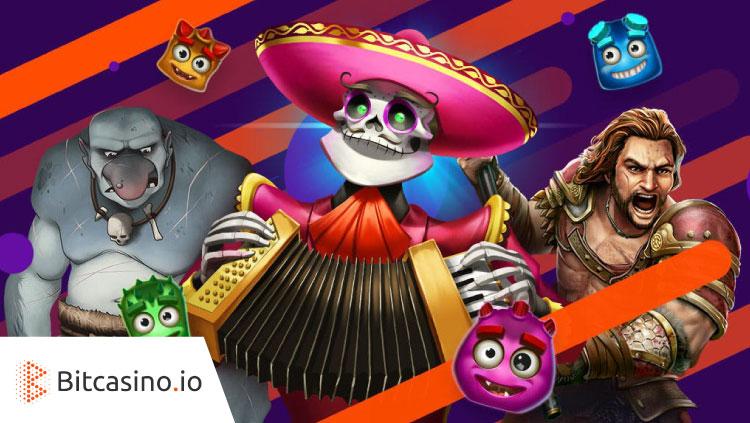 ビットカジノ(Bitcasino.io)の週末ボーナスリベート(対象:Play'nGO)