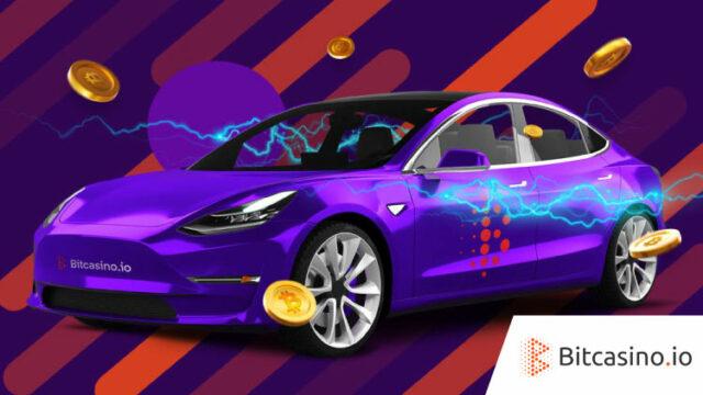 ビットカジノ(Bitcasino)の車が当たるネットワークキャンペーン(2019年7月31日〜12月1日まで)