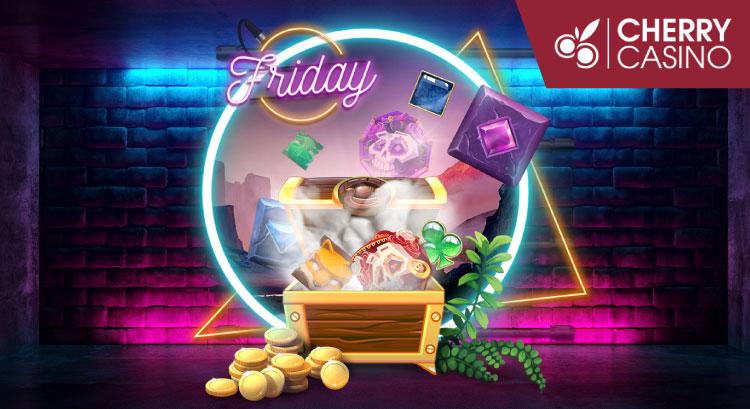 チェリーカジノ(CherryCasino)のミステリーFriday!(2019年8月16日)