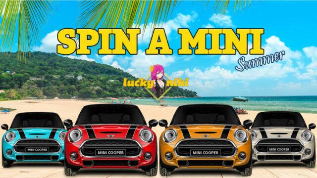 ラッキーニッキー(LuckyNikiCasino)のSPIN A MINI(2019年夏)