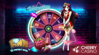 チェリーカジノ(CherryCasino)のガラポンWednesday!(2019年9月11日)