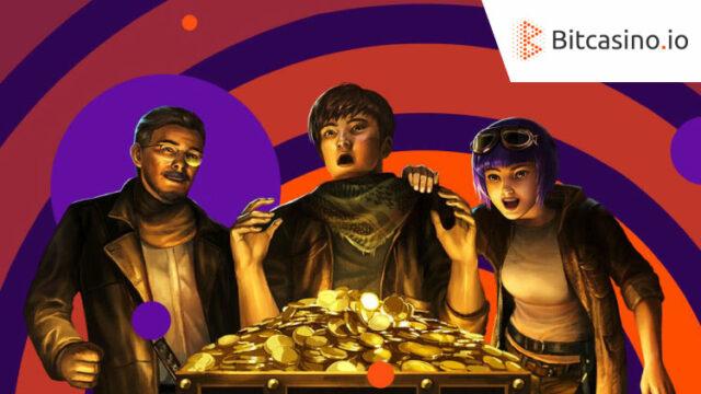 ビットカジノ(Bitcasino)でBIGWINを当てて『Relic Seekers』のフリースピンをGETしよう!