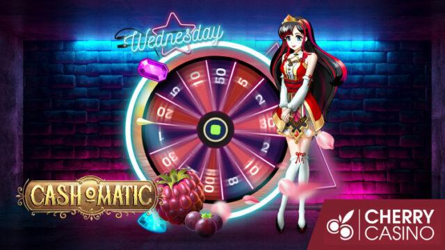 チェリーカジノ(CherryCasino)のガラポンWednesday!(2019年10月2日)