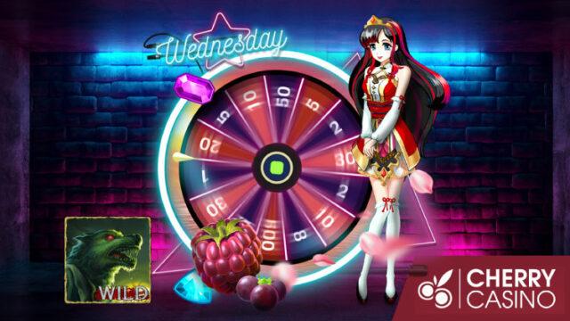 チェリーカジノ(CherryCasino)のガラポンWednesday!(2019年10月30日)