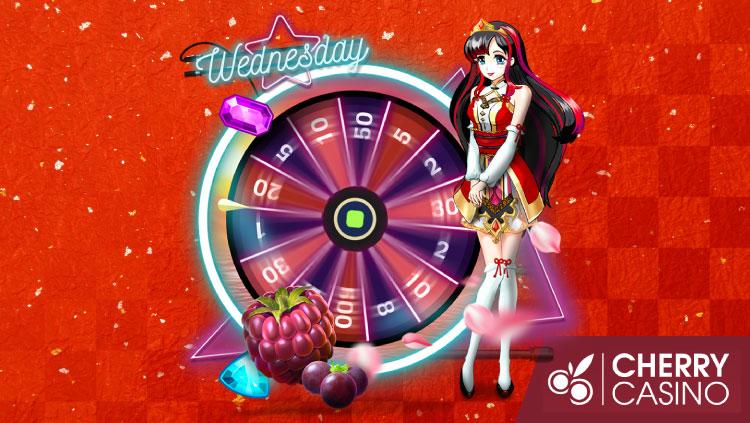 チェリーカジノ(CherryCasino)のガラポンWednesday!(2020年2月12日)