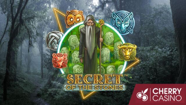 新台『Secret of the Stones』導入記念!チェリーカジノのお試しフリースピン(2020年2月24日〜25日)