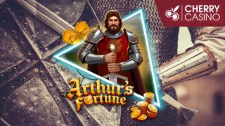 新台『ArthursFortune』導入記念!チェリーカジノのお試しフリースピン(2020年5月22日〜24日)