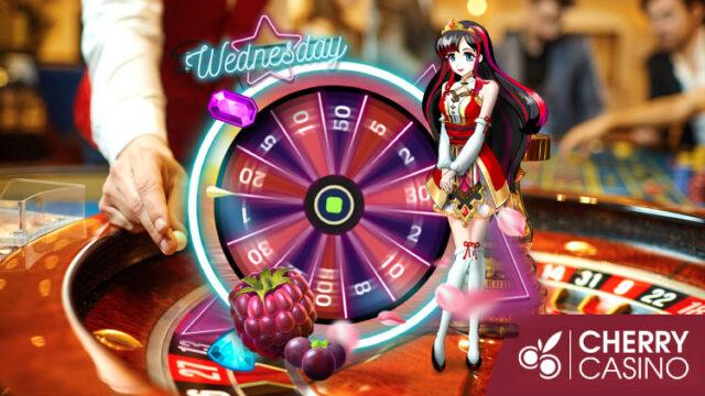 チェリーカジノ(CherryCasino)のガラポンWednesday!(2020年5月27日:対象スロット『SuperStriker』)