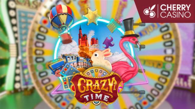 チェリーカジノ(CHERRYCASINO)の賞金総額$5,000『CrazyTimeトーナメント第2弾』(2020年6月22日〜26日)