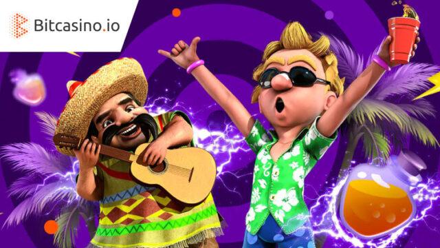 ビットカジノ(Bitcasino.io)の夏の日曜日キャンペーン(2020年8月の毎週日曜日)