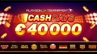 カジ旅のPlayson対象トーナメント(2020年8月1日〜9日)