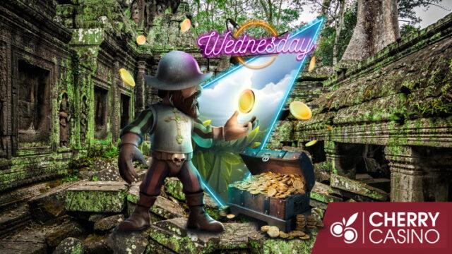 チェリーカジノ(CherryCasino)のサプライズWednesday!(2020年11月4日:対象スロット『RaigekiRisingX30』)