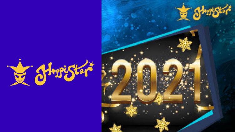 ハッピースターカジノ(HappiStar)の100%スペシャルリロードボーナス(2020年1月12日〜31日)